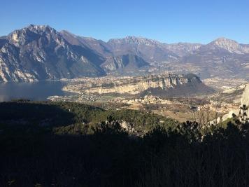 Blick auf den Monte Brione
