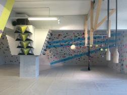 Trainingsbereich im 1. Stock