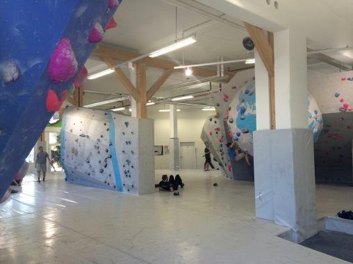 Indoor-Bereich Erdgeschoss