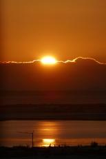 Sonnenuntergang aus dem Glockenturm