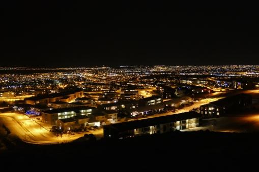 Ausblick über das Lichtermeer