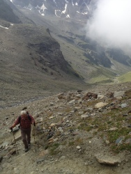 """""""Steil ist geil"""" - Hikingpartner aka Daddy"""