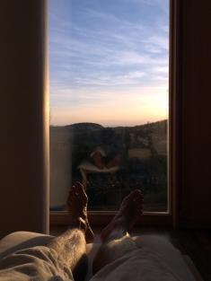 Sonnenuntergang aus der Spa-Perspektive (Part 1)