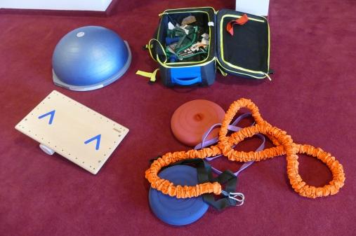 ...und seine (Folter-)Instrumente