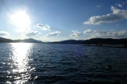 Zurück am See-Ufer