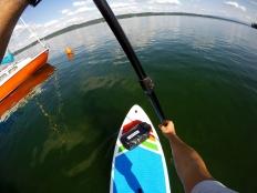 Tiefblicke im Starnberger See - keine Seltenheit.