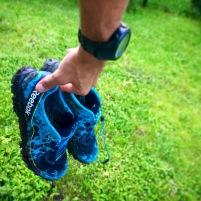 Die besten Schuhe überhaupt - alles noch schön sauber.