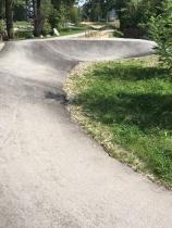 Betonierte Kurven