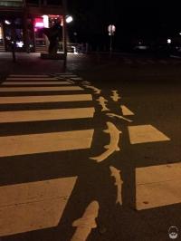 ...bis hin zum Fußgängerübergang.