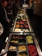 Fleisch, Gemüse, ja sogar Obst zusammen sortieren...