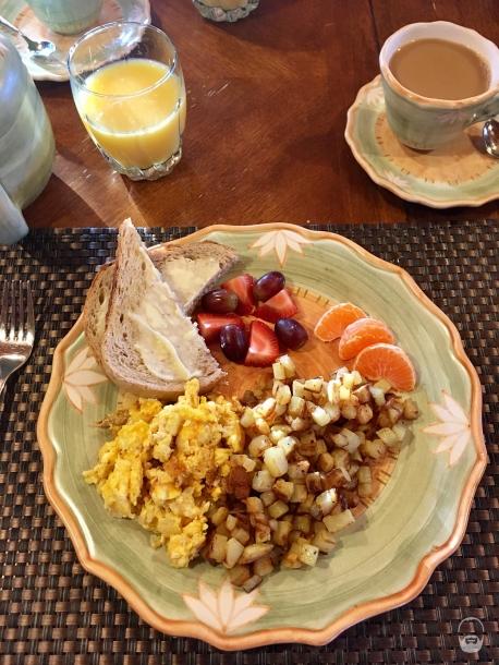 ...das Frühstück waren der Wahnsinn.