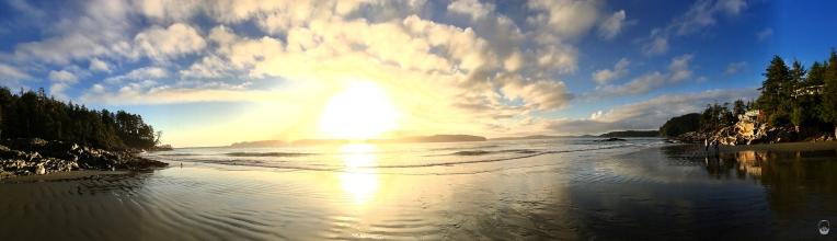 Ansonsten hieß es, bloß keinen Strand verpassen; hier: Tonquin Beach.