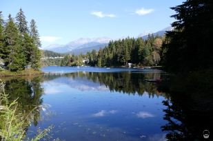 Der Alta Lake in Whistler...