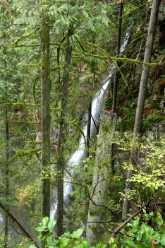 Ein erster Mini-Wasserfall...