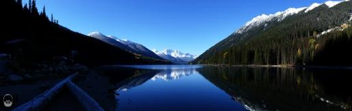 Beeindruckendes Schweigen am Duffy Lake