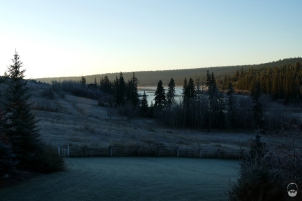 Der eisige Morgen nach einer...