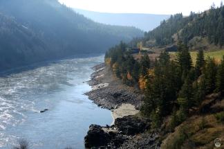 ...des Fraser River.