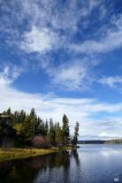Kurzer Stop am Eagles Nest bei Anahim Lake