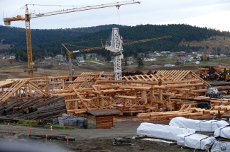 Timberkings at work.
