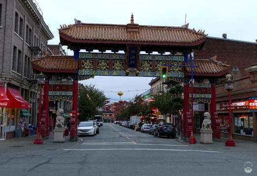 ...wir sind in Chinatown.