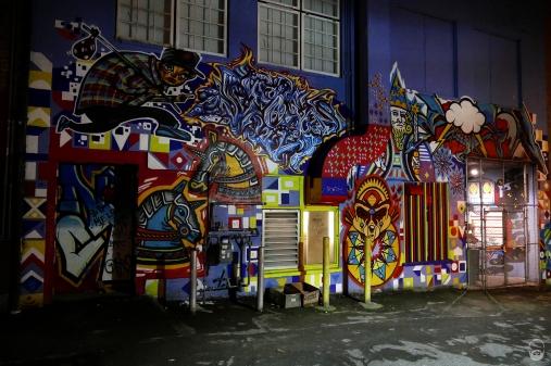 Ein letztes Hinterhof-Graffiti...