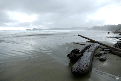 """Noch tobte der """"Storm"""" bei/über Long Beach..."""