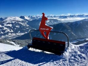 Das Skigebiet Kitzbühel-Kirchberg mit über 164 Pistenkilometern