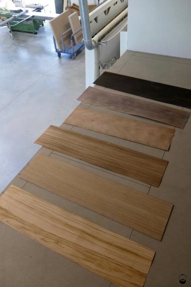 ...mündet direkt in die Frage: welches Holz darf es denn sein?