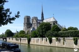 Kurzer Abstecher zu Notre Dame...