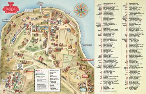 Ein kurzer Blick auf die Park-Map besagt: es gibt nichts, was es hier nicht gibt...