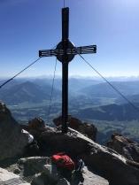 Der Gipfel und das anvisierte Ziel: der Ellmauer Halt.