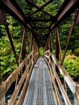 Eine Brücke im Nirgendwo...