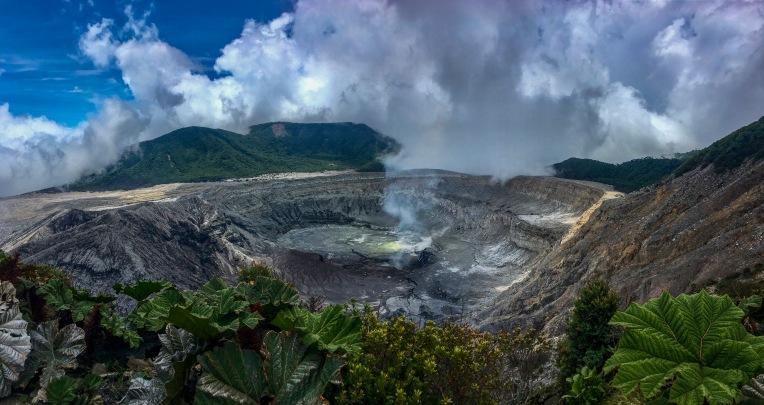 Gestatten: Vulkan Poas.